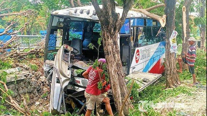 Kronologi Lengkap Pengendara Sepeda Angin Tewas Diseruduk Bus Tentrem di Jalan Raya Malang-Pasuruan