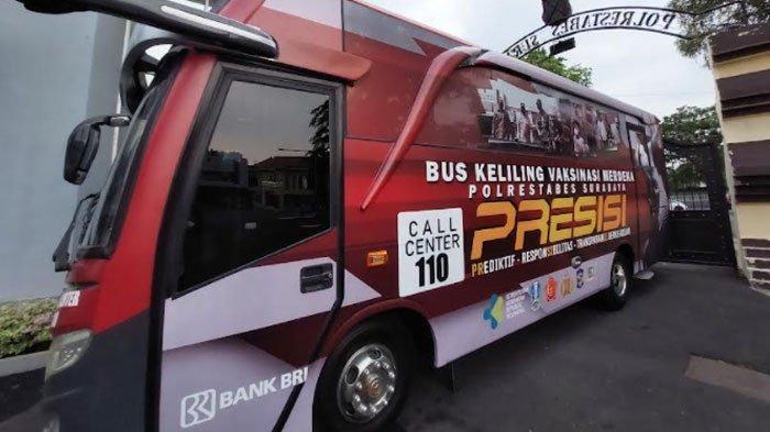 Polrestabes Surabaya Launching Bus Vaksinasi Besok, Layani Masyarakat di Batas Kota, Siapkan Dua Bus