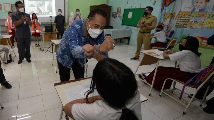 Mayoritas SD di Surabaya Mulai Lakukan PTM Pekan Ini, Belum Ditemukan Klaster