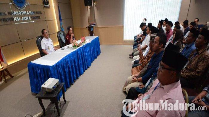 Sampang Jadi Sorotan Nasional soal Peredaran Narkoba, 132 Calon Maju Pilkades Serentak Dites Urine