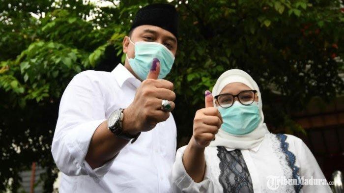 TERBARU, Penghitungan Suara Pilkada Surabaya di TPS Eri Cahyadi, Menang Telak dari Machfud Arifin