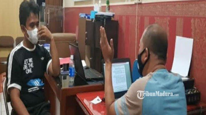 Manfaatkan Aplikasi Google Maps, Pemuda asal Tuban ini Bobol Kafe Jelang Sahur, Aksinya Terekam CCTV