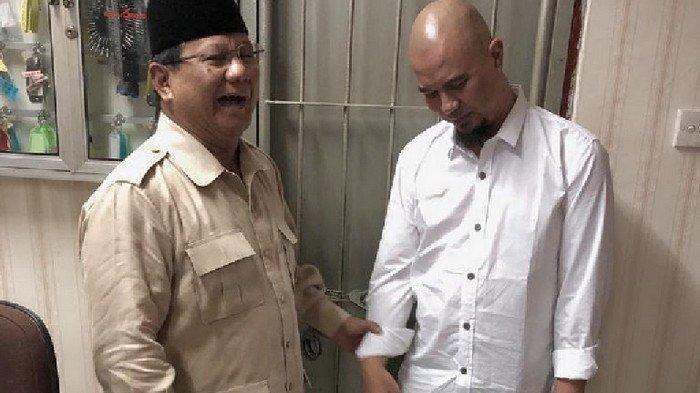 Ahmad Dhani Bilang Gerindra dan Prabowo Masuk Kabinet Jokowi Bukti Tak ada Kecurangan Pilpres 2019