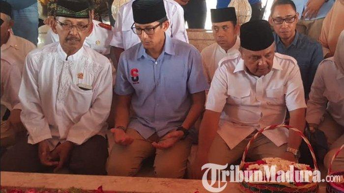 Ingin Bangun Indonesia Adil & Sejahtera Seperti Proklamator, Sandiaga Uno Ziarah ke Makam Bung Karno