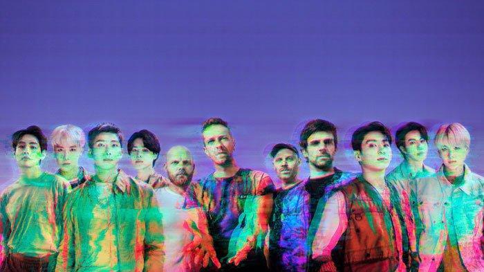Bocoran Kolaborasi Coldplay dengan BTS 'My Universe', Fans Sebut ada yang Mirip Tulisan RM