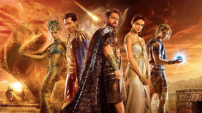 Sinopsis Film Gods of Egypt di Bioskop Trans TV Minggu 5 April 2020, Perebutan Takhta Kaisar Mesir