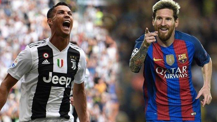 Beda Nasib Ronaldo dengan Lionel Messi Meski Kerap Ukir Rekor di Juventus dan Barcelona