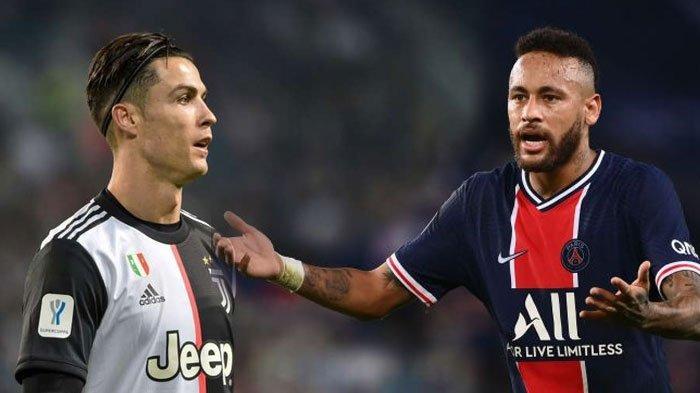 Pertukaran Cristiano Ronaldo dengan Neymar Bakal Fenomenal, Juventus dan PSG Bersedia?