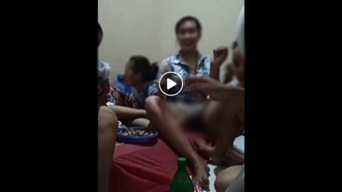 Viral di Facebook, Video Kelompok Siswi SMA Diduga Mau Pesta Miras, Ada yang Cuma Pakai Tank Top
