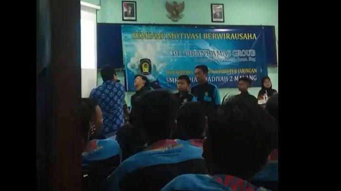 Viral di Facebook, SiswaSMK 2 Muhammadiyah Malang Ditampar Pria Diduga Motivator Secara Bergiliran