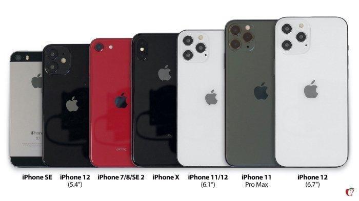 UPDATE Harga iPhone Terbaru Bulan Maret 2021: iPhone 12 Series, iPhone 7 hingga iPhone X