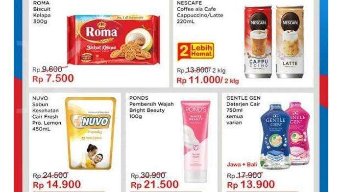 Daftar Katalog Promo Indomaret 9 September 2021, Diskon Produk Sabun Mandi hingga Deterjen Cair