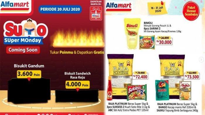 Daftar Promo Alfamart 20 Juli - 31 Juli 2020, Ada Paket Hemat Sembako hingga Kejutan Super Monday