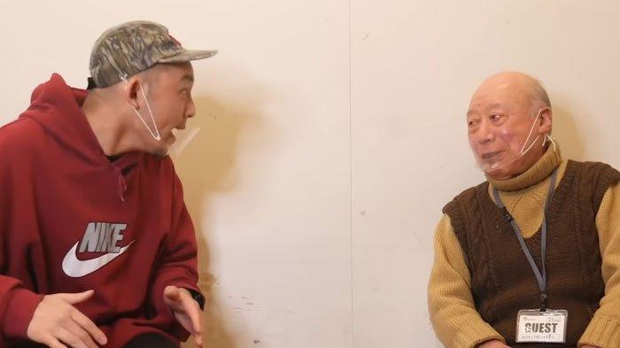 Daisuke saat bertemu dan mewawancarai Shigeo Tokuda atau Kakek Sugiono, ungkap besaran gaji dan kehidupan pribadinya