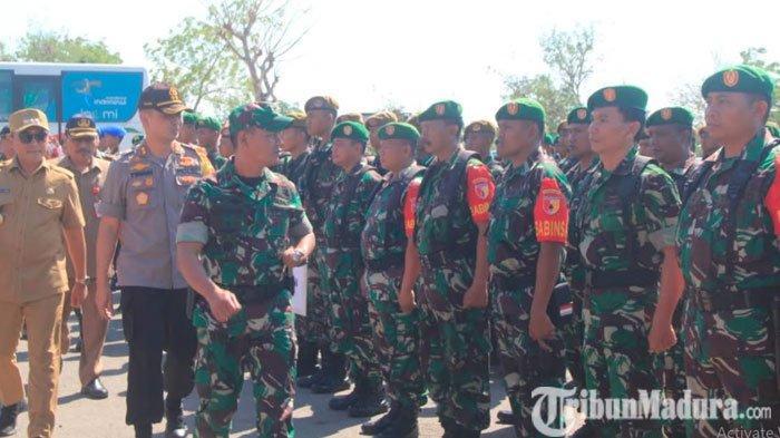 Jelang Pilkades Serentak 2019, Dandim 0826 Pamekasan Ingatkan Pasukannya Jaga Netralitas TNI