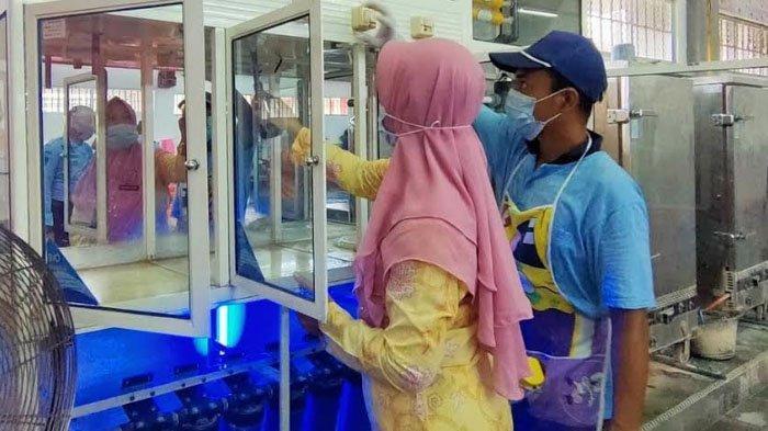 Tindak Lanjuti Sertifikat Laik Hygiene Sanitasi, Dinkes Sidak Dapur Lapas Narkotika Pamekasan
