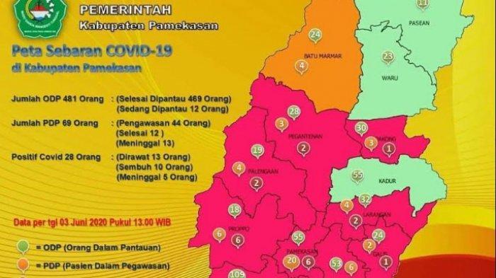 Pasien Positif Virus Corona di Pamekasan Bertambah Satu, Seorang Sopir Jurusan Pamekasan-Surabaya