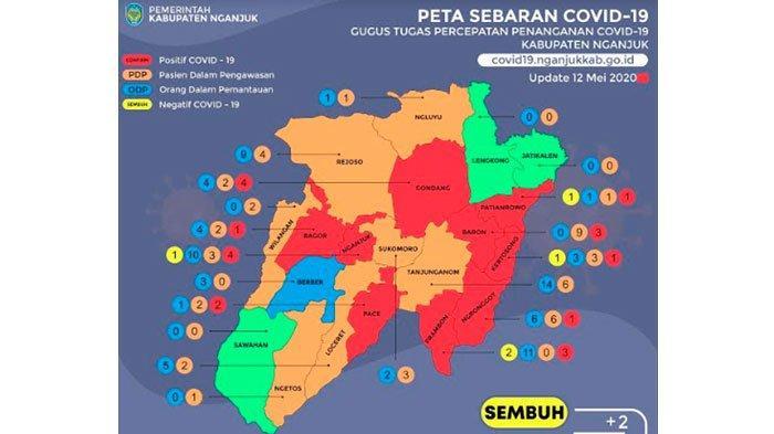 Perantau yang Pulang KampungDisinyalir Jadi Penyebab Bertambahnya Kasus Virus Corona di Nganjuk