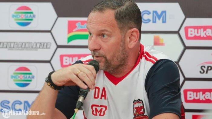 Ternyata Pelatih Madura United Mainkan Dua Pemain Trial Saat Lawan Persija, Dejan Akui Bikin Sukses