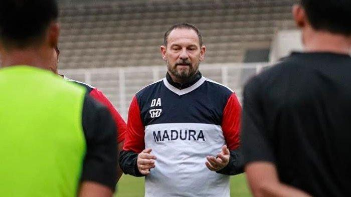 Tak Diperkuat Aleksandar Rakic & Greg Nwokolo, Dejan Optimis Madura United Hancurkan Persija Jakarta