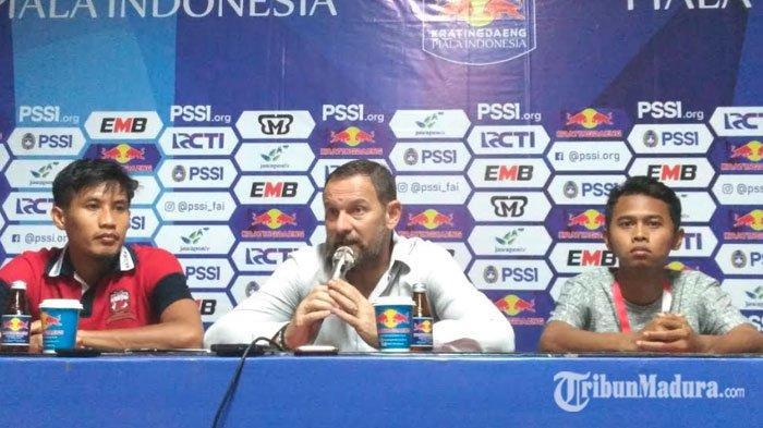 Gagal Melaju di Laga Final Piala Indonesia, Madura United Sayangkan Gol Mudah dari PSM Makassar