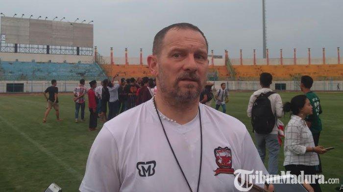 Dejan Antonic Berharap Pemain Lama dan Baru Madura United Cepat Beradaptasi