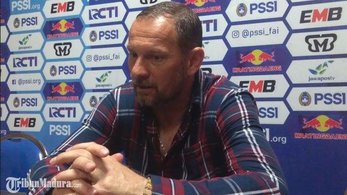 Madura United Vs Sriwijaya FC,Dejan Antonic Puji Kerja Keras Pemainnya usai Bungkam Tim Tamu 5-0