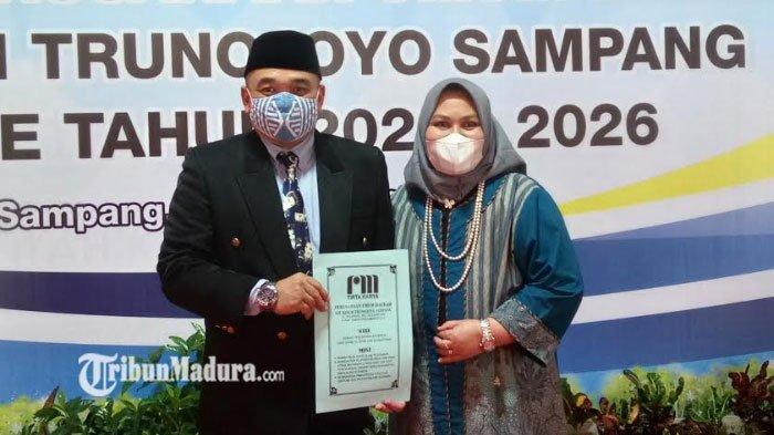 Bupati Sampang Lantik Deni Darmawan Menjadi Dirut PDAM Trunojoyo Sampang