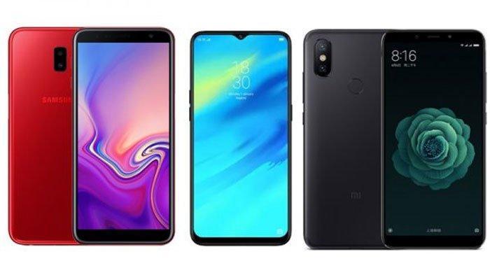 Deretan Rekomendasi HP Terbaik pada November 2019, Mulai Samsung hingga Vivo, Cek Harganya di Sini