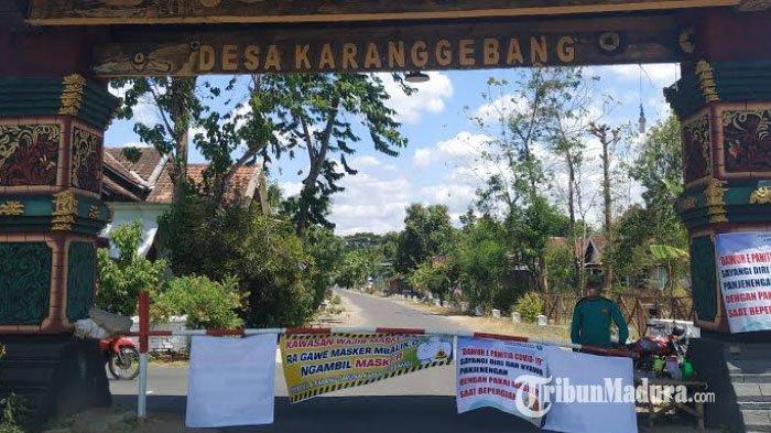 BREAKING NEWS Kasus Corona Menggila, Desa Karanggebang dan Desa Kutu Kulon Ponorogo Lakukan Lockdown