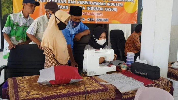 Novita Rahayu Tularkan Ilmu ke Sumenep Madura, Beri Pelatihan Menjahit untuk IKM di Desa Ellak Laok