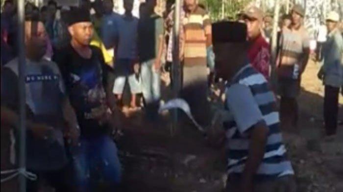 Bawa Celurit dan Tebas Kotak Suara Pilkades Serentak, Dua Warga DesaAeng Tong-Tong Dibekuk Polisi