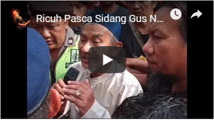 VIDEO VIRAL Detik-detik Banser Geram ke Salim Ahmad Gara2 Bilang 'Awas Kiai PKI Lewat' pada Kiai NU
