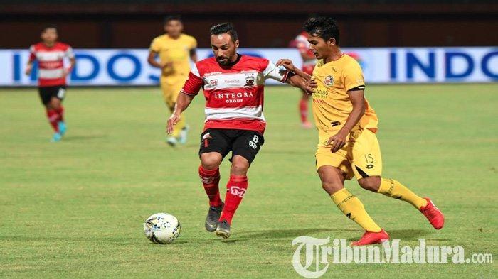 Absen LawanPersipura Jayapura, Diego Assis Diharap Bisa Turun SaatMadura United KontraArema FC