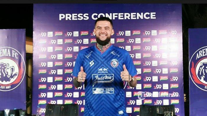 Baru Gabung, Diego Michiels Terancam Tak Perkuat Arema FC pada Turnamen Piala Walikota Solo 2021