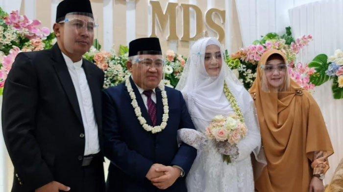 Cerita Penghulu Pernikahan Din Syamsuddin dan Rashda Diana, Sempat Was-was Saat Prosesi Akad Nikah