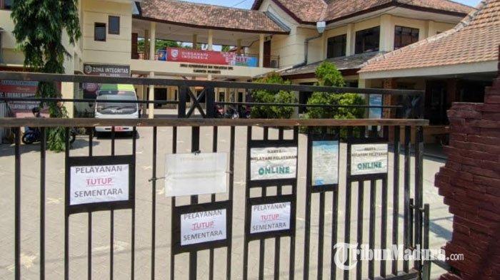 2 Pegawai Positif Covid-19, Kantor Dispendukcapil Kabupaten Mojokerto Kembali Ditutup Sementara