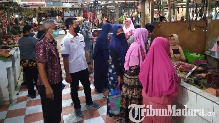 Jelang Idul Fitri 1442 H, Harga Kebutuhan Pokok di Sampang Stabil