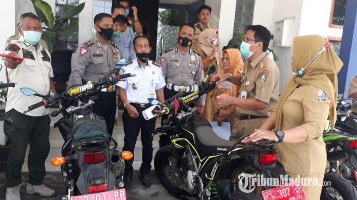 Dishub Sampang Gelar Operasi, Sejumlah OPD Sampang Ditemukan Tak Setor Pajak Kendaraan Plat Merah