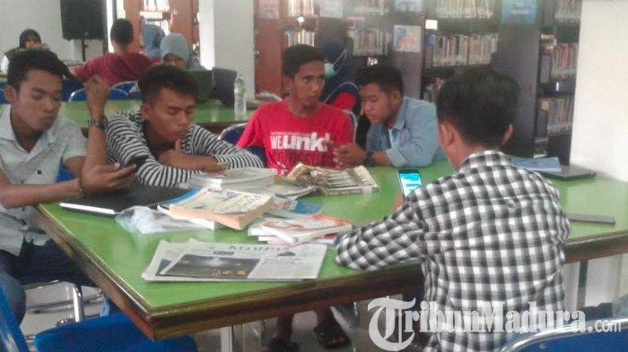 Sepi Peminat, Kursus Bahasa Inggris Gratis untuk Umum di Perpustakaan Sampang Dihentikan