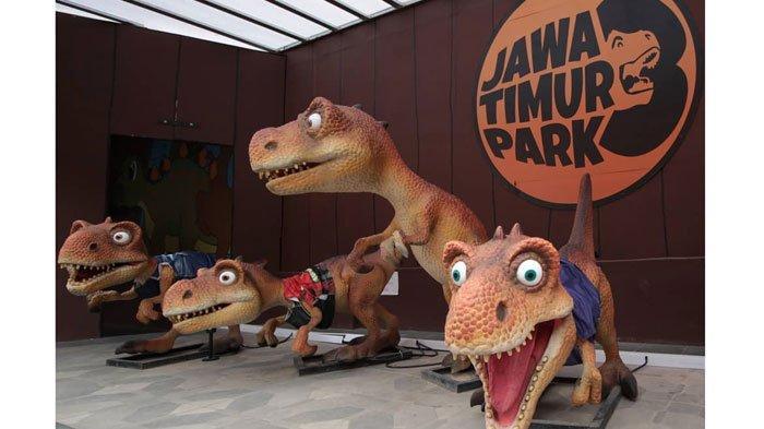 Wahana diJatim Park 3, MulaiDino Park hinggaFun Tech Plaza,Tepat Buat Libur Natal dan Tahun Baru