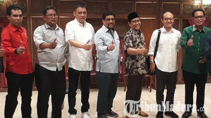 Survei Charta Politika, Elektabilitas Jokowi-Makruf Terus Naik di Jatim, Tapi Sulit Tembus Madura