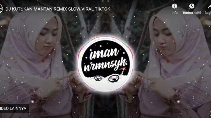 Download Lagu MP3 DJ Kutukan Mantan Remix TikTok, 'Kutukan Mantan Masih Teringat Jelas'