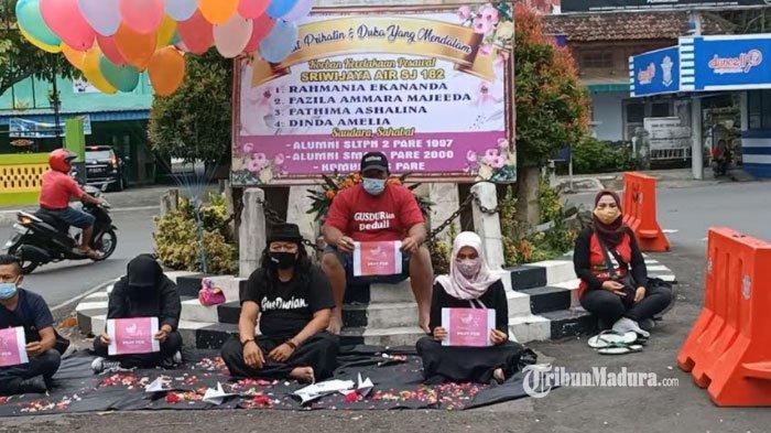 Sepekan Insiden Pesawat Sriwijaya Air SJ 182 Jatuh, Keluarga Korban asal Kediri Gelar Doa Bersama