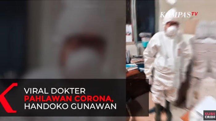 Sosok ViralDokter Handoko Gunawan di Tengah Wabah Virus Corona, Disebut Pahlawan Tanpa Tanda Jasa