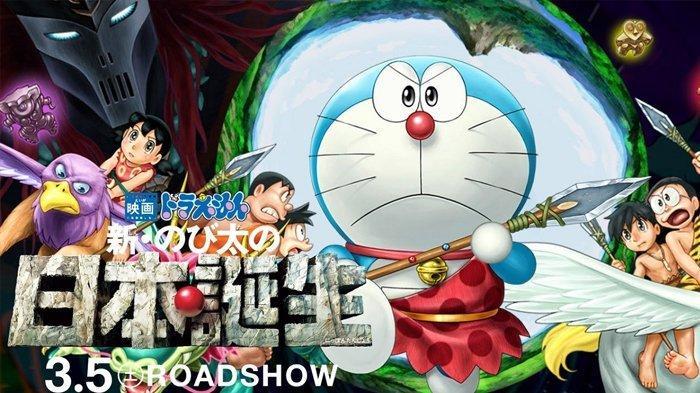 Sinopsis Film Doraemon the Movie: Nobita & the Birth of Japan, Kisah Petualangan Bangun Kota Impian