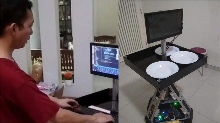 RS Unair dan ITS Kembangkan Robot Tenaga Kesehatan untuk Melayani Pasien Covid-19 di Ruang Isolasi