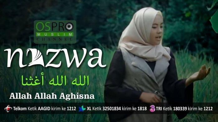 Download MP3 'Allah Allah Aghisna' Nazwa Maulidia, Lagu Sholawat Populer, Dilengkapi Kunci Gitar
