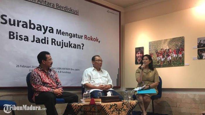 Pemkot Surabaya Segera TerapkanKawasan Tanpa Rokok di 5 Tempat, Rokok Elektrik Masuk dalam Kategori