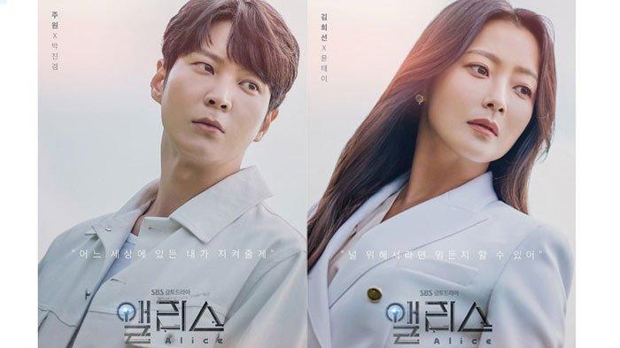 Download Drama Korea Alice Sub Indo, Drakor Penjelajah Waktu DibintangiJoo Won dan Kim Hee Sun